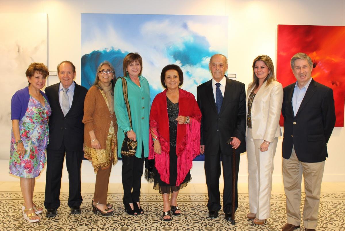 Salazar de Lince en el Consulado General Central de Colombia en Miami