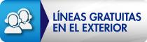 Líneas gratuitas en el exterior