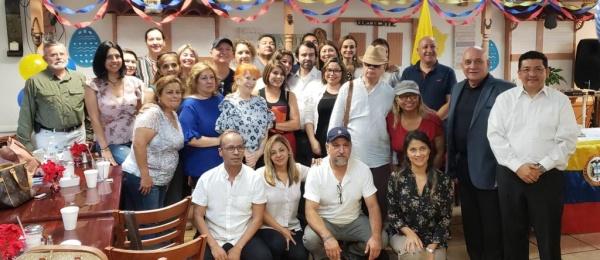 Cónsul Pedro Agustín Valencia realizó una reunión con la comunidad colombiana en Coral Springs