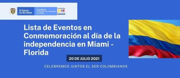 ¡Celebremos juntos el ser Colombianos! en julio de 2021