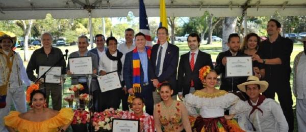 Con música y arte se inauguró el Colombian Scuplture Garden