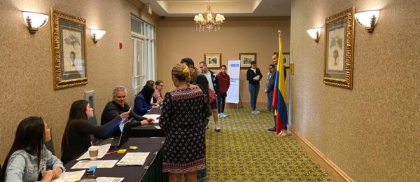 Consulado de Colombia en Miami realizó la jornada de Consulado móvil en Coral Springs, Estados Unidos