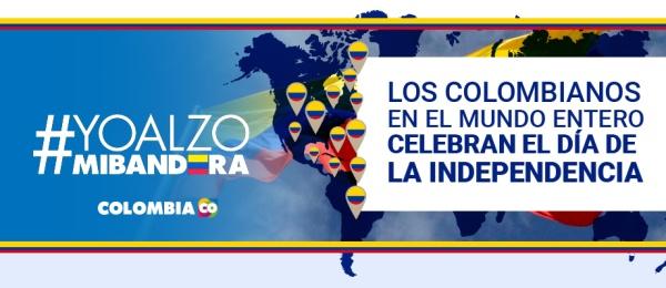 Las embajadas de Colombia en el exterior celebrarán la fiesta de la independencia nacional